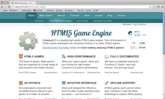 15 个顶级 HTML5 游戏引擎-HTML5综合